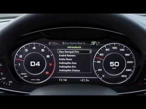 audi mostra painel virtual   youtube