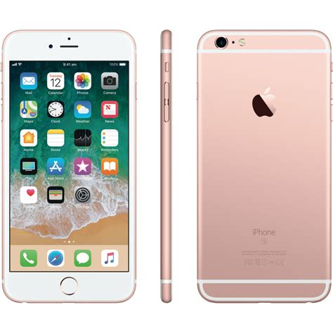 iphone 6s plus gold apple mkug2x a iphone 6s plus 128gb gold at the