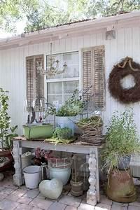 Gartenhaus Shabby Chic : die 499 besten bilder zu garten d e k o auf pinterest gardening garten ideen und gartenarbeit ~ Markanthonyermac.com Haus und Dekorationen