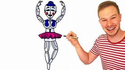Ballora Fnaf Sister Location Drawing Characters Draw