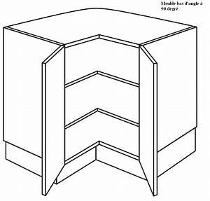 Meuble Cuisine D Angle : meuble d angle bas pour cuisine ~ Dailycaller-alerts.com Idées de Décoration
