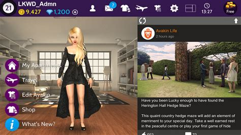 avakin virtual 3d play apk apps game role android screenshot avakinlife lockwood playing dress decorate google