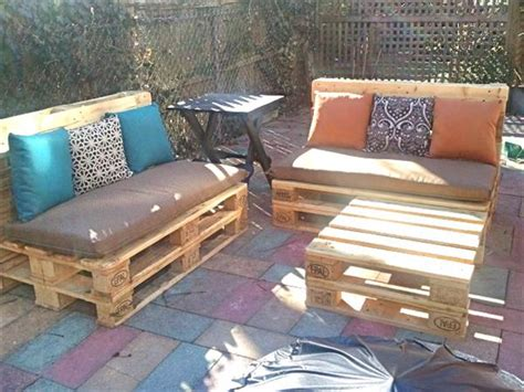 diy outdoor furniture made from pallets diy pallet projects 50 pallet outdoor furniture ideas 45691