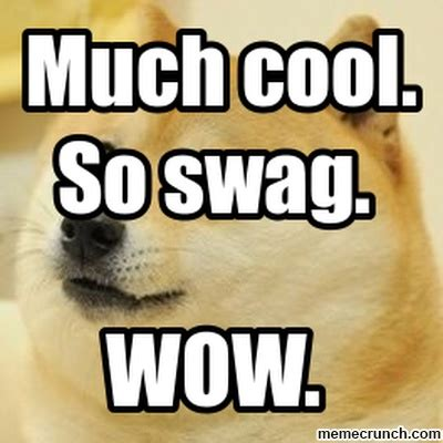 So Cool Meme - much cool so swag