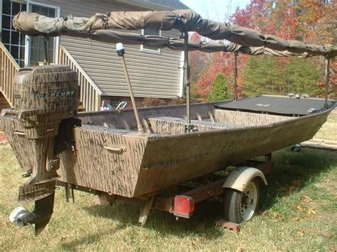 Jon Boat Duck Blind Ideas by Best 25 Duck Boat Blind Ideas On Boat Blinds