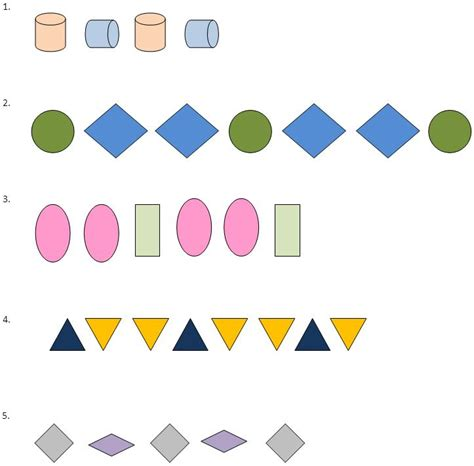 math patterns and sequences 171 free patterns