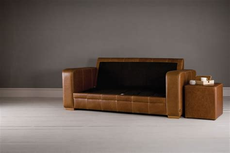 What To Do With Sofa by The Square Arm 3 Seater Leather Sofa Bed By Indigo Furniture