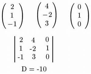 Vektoren Berechnen Online : lineare abh ngigkeit von vektoren pr fen ~ Themetempest.com Abrechnung