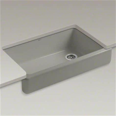 kohler k 6488 k4 whitehaven self trimming apron front single basin sink faucetdepot