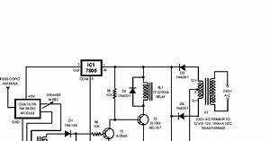 Car Wireless Alarm Circuit Diagram