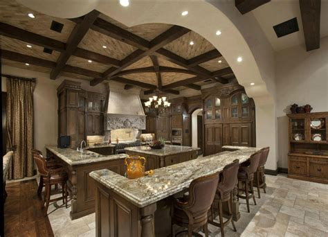 kitchen island bar height 35 luxury mediterranean kitchens design ideas