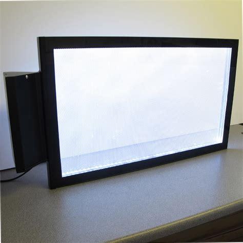 light box led display projecting light box illuminated led sign rectangular