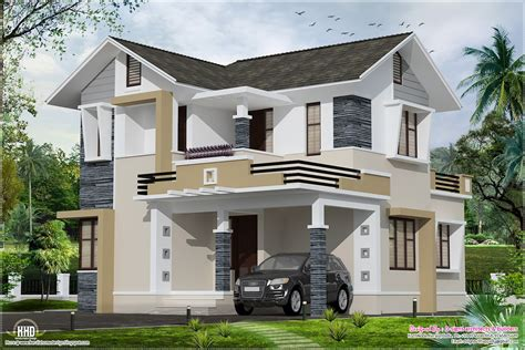small style homes stylish small home design kerala home design and floor plans