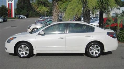 White 2008 Nissan Altima 2.5 Sl Sunroof, Sporty, 1 Owner