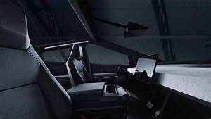 Tesla-Cybertruck-pickup-electrica-interior-1 - Mega Autos