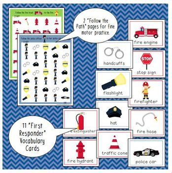 police officer lesson plans for preschool firefighter amp officer printable activities for 262