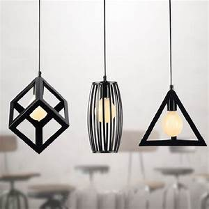 Hanging light lamp to decorate your home rough
