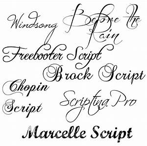 Cool Writing Styles Alphabet In Tattoo Designs Since They ...