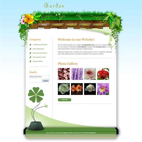 garden template free gardening newsletter template container gardening ideas
