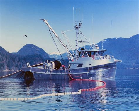 glacier bay types  commercial fishing