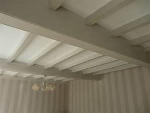 poutre repeint stephanie et eleonore deco With commentaire peindre des poutres en blanc 7 couleur piece