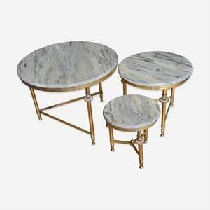 Table Gigogne Marbre : tables gigognes vintage d 39 occasion ~ Teatrodelosmanantiales.com Idées de Décoration