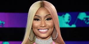 VMAs 2017: Nicki Minaj Wears Two-Toned Pink-and-Blonde