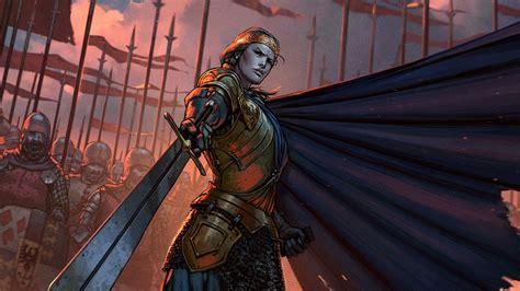 thronebreaker  witcher tales review  queen