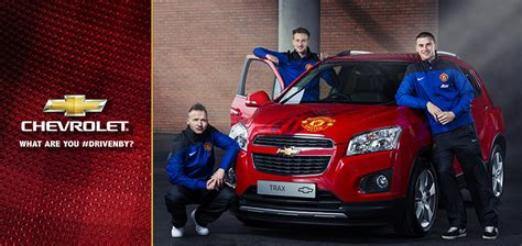 Chevrolet  Manchester United Autographed Trax
