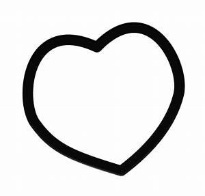 Heart Frame Clip Art Black And White | Clipart Panda ...