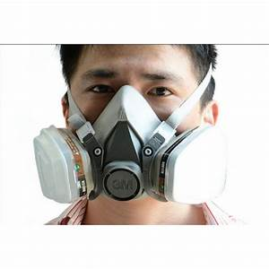 Buy 3M 6200 N95 Double Gas Mask Protection Filter Chemical