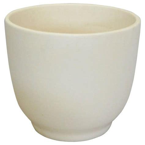 modern ceramic planter matte white california modern planter pot by gainey
