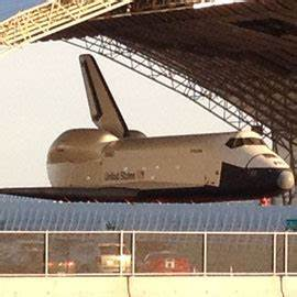The Space Shuttle Enterprise at John F Kennedy Airport ...