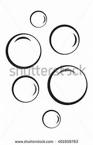 Bubble Icon Isolated On White Background Stock Vector ...