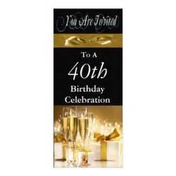 40th birthday decorations uk 40th birthday personalised invitation 10 cm x 24 cm