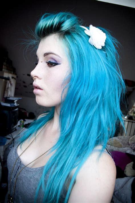 How To Dye Blue Hair Bright Blue Hair Light Hair And