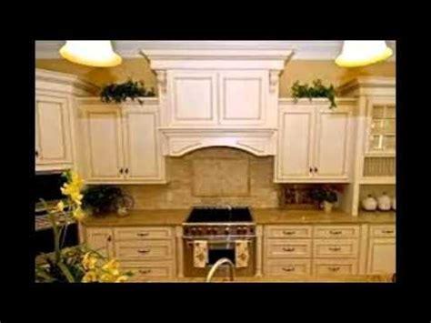 White Glazed Kitchen Cabinets  Youtube