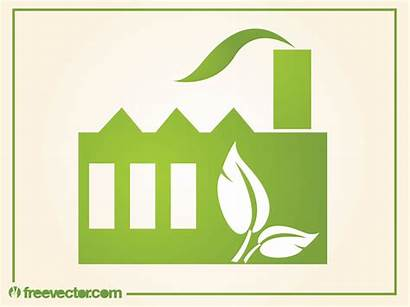 Factory Vector Eco Friendly Industrial Graphics Freevector