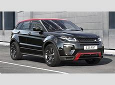 Range Rover Evoque Ember Special Edition unveiled, 2017 MY