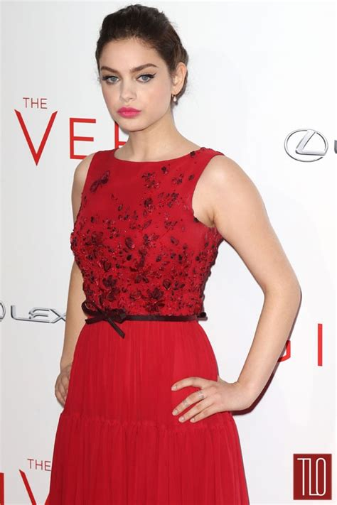 odeya rush red carpet odeya rush in georges hobeika couture at quot the giver quot new