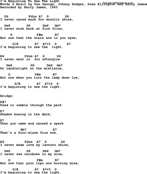 i see the light piano pdf song lyrics with guitar chords for i 39 m beginning to see