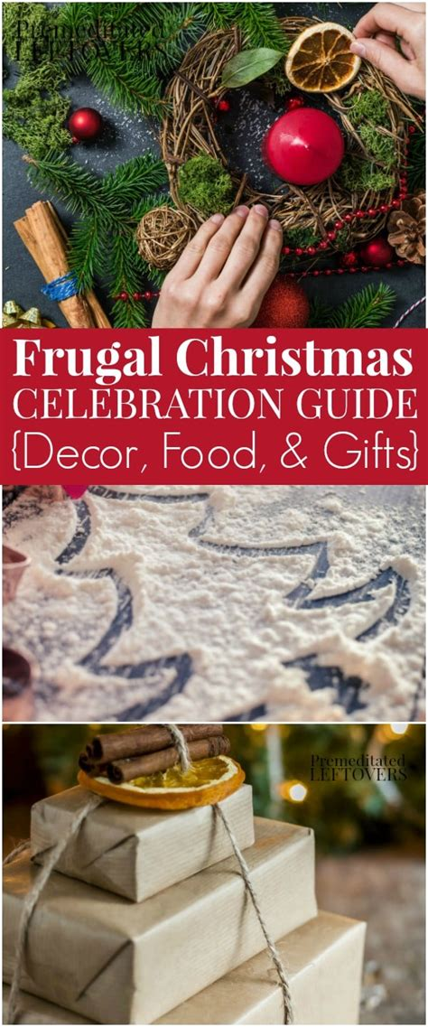frugal tips for celebrating christmas on a budget