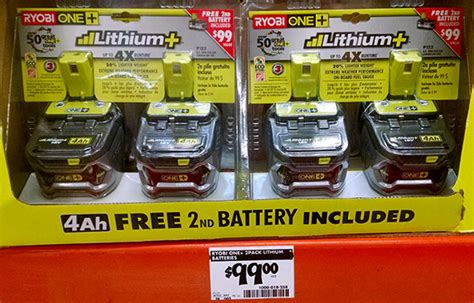 cordless tool battery deals  home depot