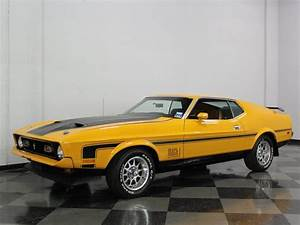 Medium Bright Yellow 1973 Ford Mustang