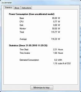 Stromkosten Gerät Berechnen : pc stromverbrauch messen mit gratis tool von microsoft ~ Themetempest.com Abrechnung