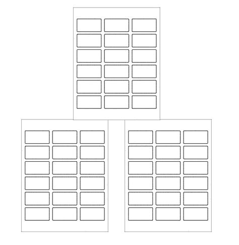 Free Downloadable Labels Template by 15 Free Label Templates Free Sle Exle Format