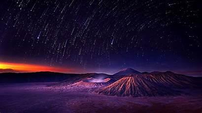 Shooting Stars Star Starry Sky Night Wallpapers