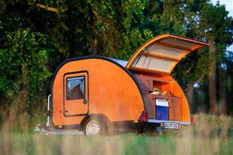 mini wohnwagen kaufen teardroptrailer mini caravan caravan wohnwagen wohnmobile