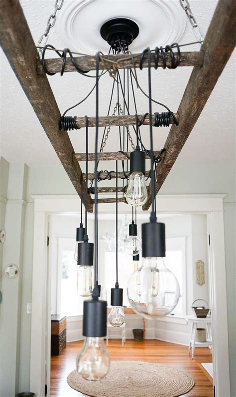 Diy Edison Chandelier by How To Make A Diy Industrial Edison Bulb Chandelier