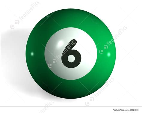 letters  numbers pool ball stock picture